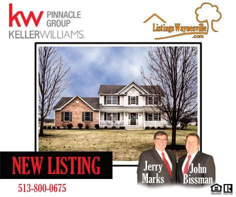 New Listing U2013 9620 Sandy Run Drive, Waynesville, Ohio 45068 U2013 Gorgeous 3  Bedroom Home On 1 Acre With Fully Finished Lower Level!